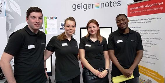 Individuelles Firmenbild der Firma: Geiger-Notes AG