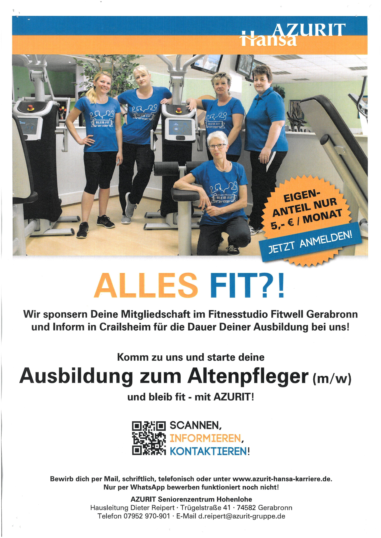 Individuelles Firmenbild der Firma: AZURIT Seniorenzentrum Hohenlohe